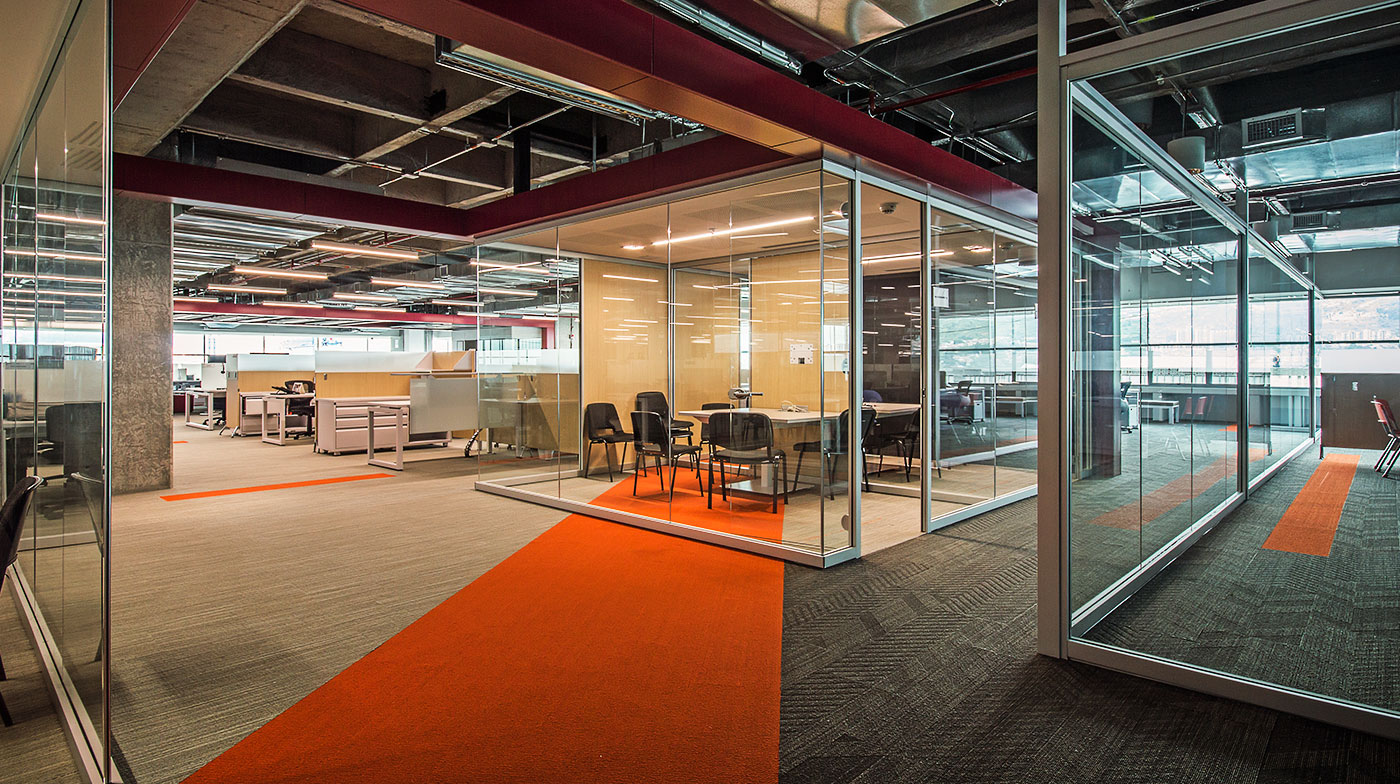Proyecto dise o interior oficinas grupo xito for Proyecto oficina